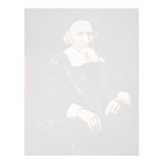 Portrait Of Jacob Trip By Maes Nicolaes Personalized Letterhead