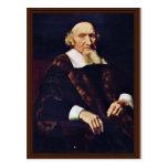 Portrait Of Jacob Trip By Maes Nicolaes Postcard
