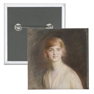 Portrait of Jacqueline 2 Inch Square Button