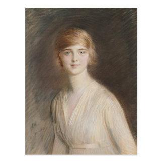 Portrait of Jacqueline Postcard