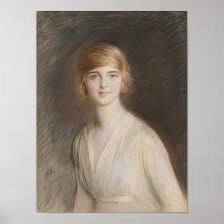 Portrait of Jacqueline Poster