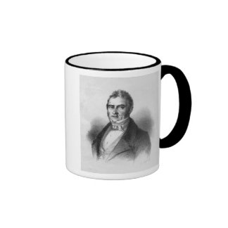 Portrait of Jacques Laffitte Ringer Coffee Mug