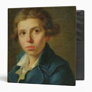 Portrait of Jacques-Louis David  as a Youth 3 Ring Binder