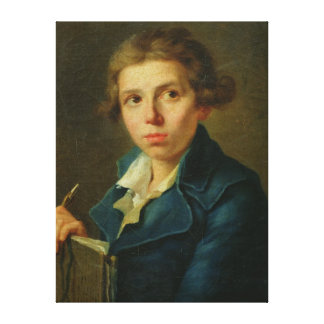 Portrait of Jacques-Louis David  as a Youth Canvas Print