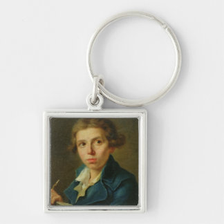 Portrait of Jacques-Louis David  as a Youth Keychain