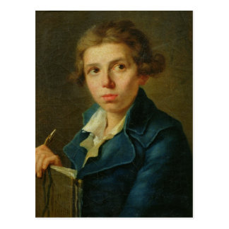 Portrait of Jacques-Louis David  as a Youth Postcard
