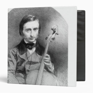 Portrait of Jacques Offenbach  1850 3 Ring Binder