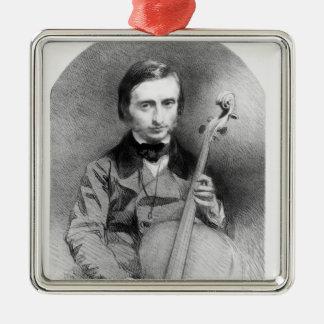 Portrait of Jacques Offenbach  1850 Metal Ornament