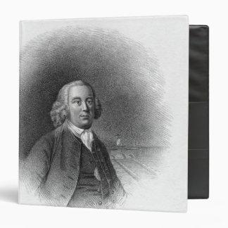 Portrait of James Brindley 3 Ring Binder