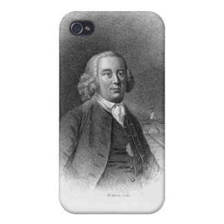 Portrait of James Brindley iPhone 4 Covers