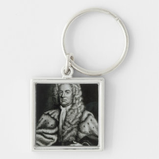 Portrait of James Brydges Keychain
