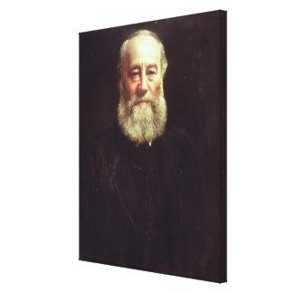 Portrait of James Prescott Joule Canvas Print