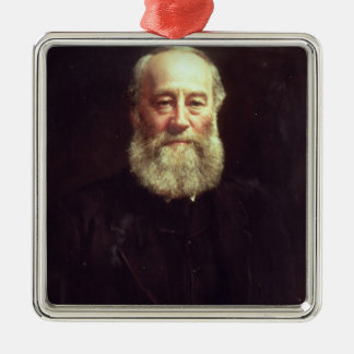 Portrait of James Prescott Joule Metal Ornament