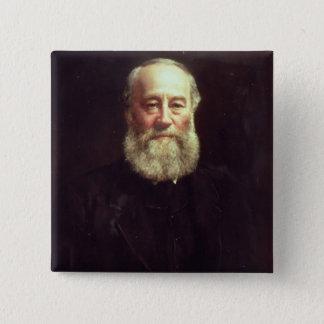 Portrait of James Prescott Joule Pinback Button