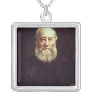 Portrait of James Prescott Joule Silver Plated Necklace