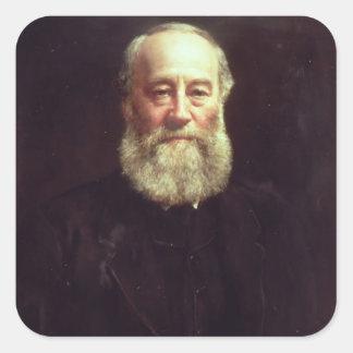 Portrait of James Prescott Joule Square Sticker