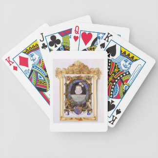 Portrait of James VI of Scotland (1566-1625) Later Bicycle Playing Cards