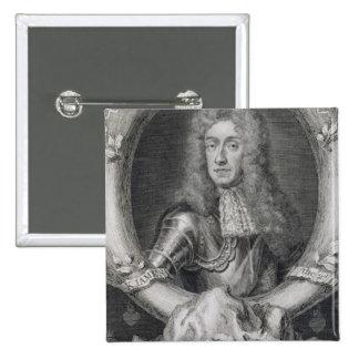 Portrait of James VII of Scotland, II of England ( Pinback Button