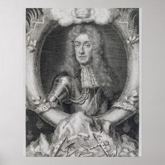 Portrait of James VII of Scotland, II of England ( Poster
