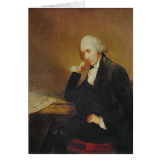 Portrait of James Watt  1792 Card