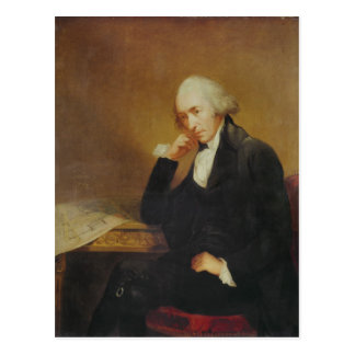 Portrait of James Watt  1792 Postcard