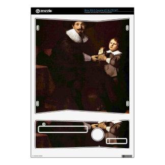 Portrait of Jan and his son Pellicorne - Rembrandt Xbox 360 S Skin