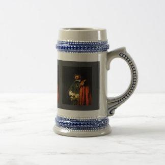 Portrait Of Jan Six By Rembrandt Harmensz. Van Beer Stein
