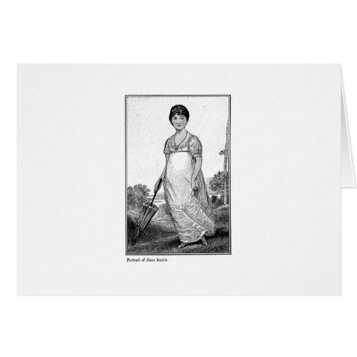 Portrait of Jane Austen 1906 Cards