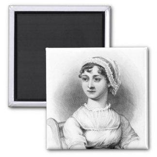 Portrait of Jane Austen 2 Inch Square Magnet