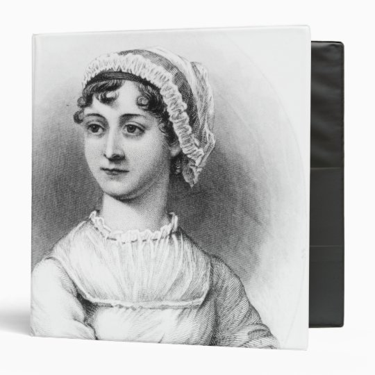 Portrait of Jane Austen Binder
