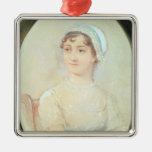 Portrait of Jane Austen Metal Ornament