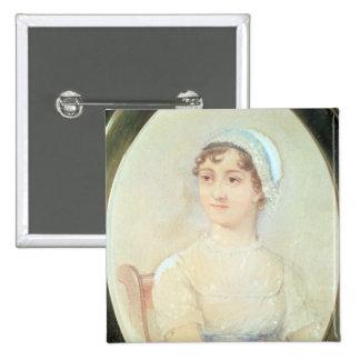 Portrait of Jane Austen Pinback Button