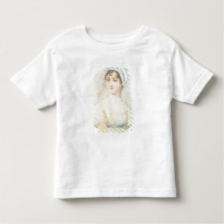 Portrait of Jane Austen T-shirts