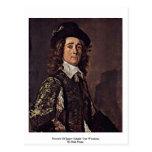 Portrait Of Jasper Schade Van Westrum Postcard