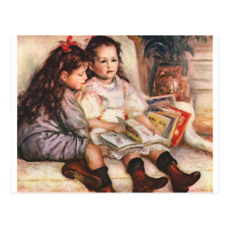 Portrait of Jean and Genevieve Caillel Post Cards
