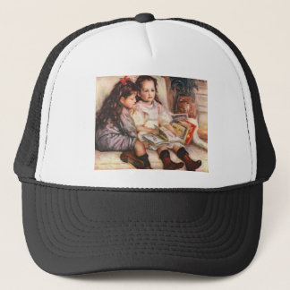 Portrait of Jean and Genevieve Caillel Trucker Hat