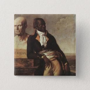 Portrait of Jean-Baptiste Belley Pinback Button