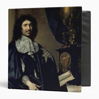 Portrait of Jean-Baptiste Colbert de Torcy  1666 3 Ring Binder