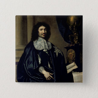 Portrait of Jean-Baptiste Colbert de Torcy  1666 Button