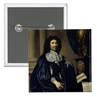 Portrait of Jean-Baptiste Colbert de Torcy  1666 Button