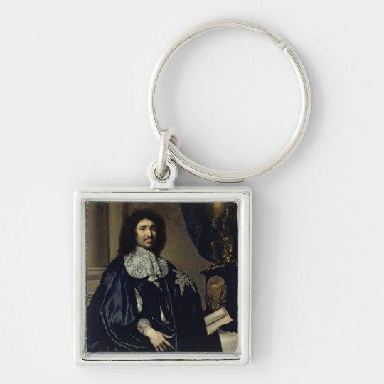 Portrait of Jean-Baptiste Colbert de Torcy  1666 Keychain