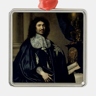 Portrait of Jean-Baptiste Colbert de Torcy  1666 Metal Ornament