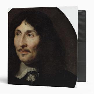 Portrait of Jean-Baptiste Colbert de Torcy 3 Ring Binder