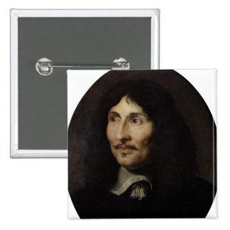 Portrait of Jean-Baptiste Colbert de Torcy 2 Inch Square Button