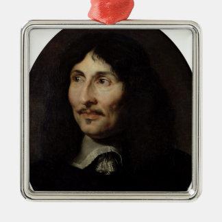 Portrait of Jean-Baptiste Colbert de Torcy Metal Ornament