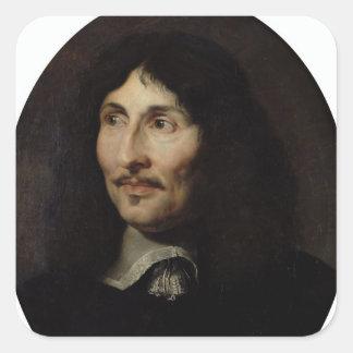 Portrait of Jean-Baptiste Colbert de Torcy Square Sticker
