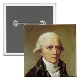 Portrait of Jean-Baptiste de Monet 2 Inch Square Button