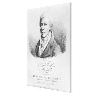 Portrait of Jean-Baptiste de Monet Canvas Print