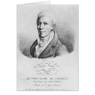 Portrait of Jean-Baptiste de Monet Greeting Card