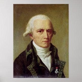Portrait of Jean-Baptiste de Monet Poster